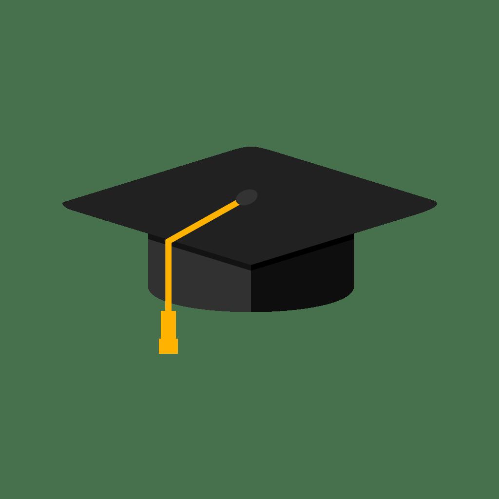 Pngtree—Graduation Cap Flat Multi Color 3777178