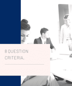 8 question selection criteria writing