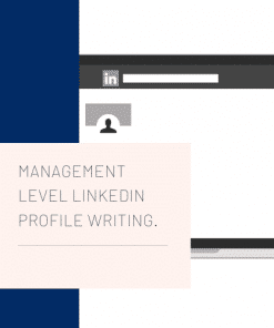 Management LinkedIn profile writing