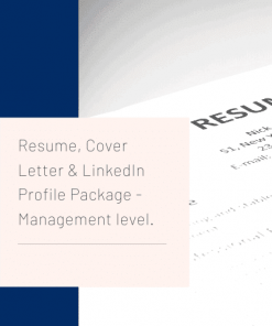 Management Resume Writing