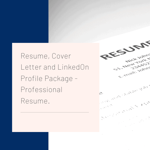 Professional Resume And Cover Letter from www.resumestoyou.com.au