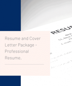 Mid Career resume and cover letter writing