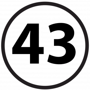 Numbers 43