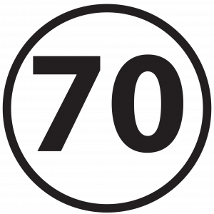 Numbers 70 1