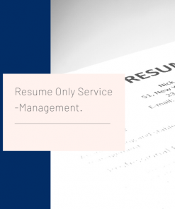 Resume Only Service Management