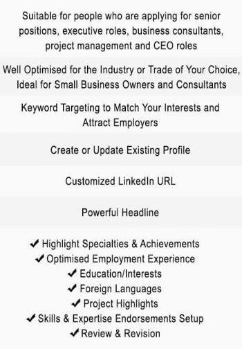Executive Level LinkedIn