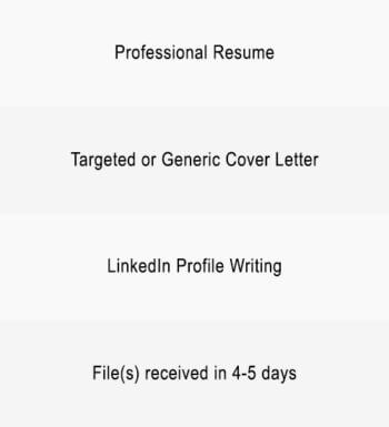 Graduate, Entry Level Resume, Cover Letter & LinkedIn Profile